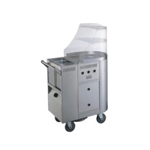 Stainless Steel Frying Cart