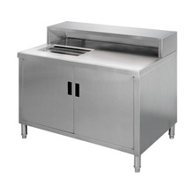 Stainless Steel Glass Washing Station