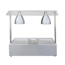 Stainless Steel Heating Lamp With Bain Marie