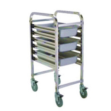 stainless steel meat trolley Cart