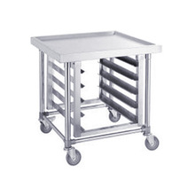 Stainless Steel Mobile Bench Kitchen Trolley