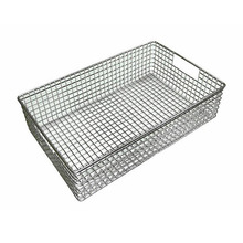 Stainless Steel Rectangle Kitchen Basket