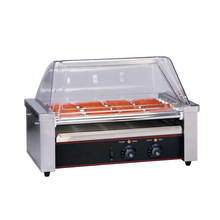 Stainless Steel Roller Hotdog Grill Vending Machines