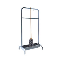 Stainless Steel Single Row Mop Holder