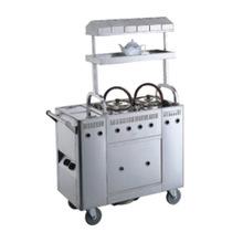 Stainless Steel Tea Service Cart