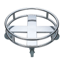 Stainless Steel Washing Basket Trolley