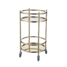 Stainless Steel Wine Service Cart