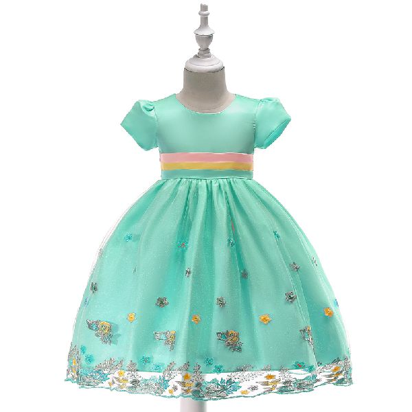 88eee74d4 Summer Clothes Flower Girl Party Dress Baby Frock Design Kids L5051 (L5051)