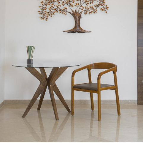 Aeron Solid Wood Dining Chair