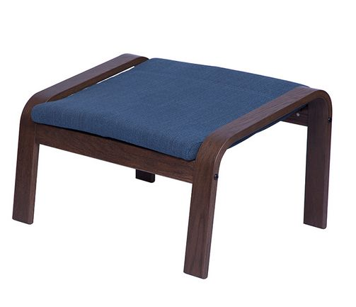 Cragest Dark Blue Footrest Table