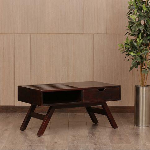 Encase Sheesham Wood Center Table