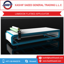 Flatbed Laminator for Traffic Signs