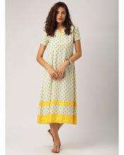 Flare Printed Maxi Dress