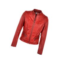 leather womens top