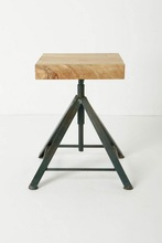 Retro Iron Small Stool