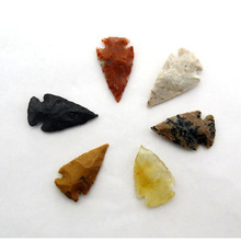 Semi Precious Stone Agate Material Arrowhead