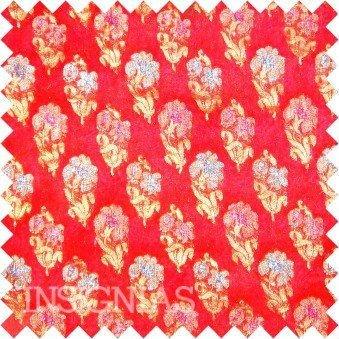 Silk georgette jacquard fabrics