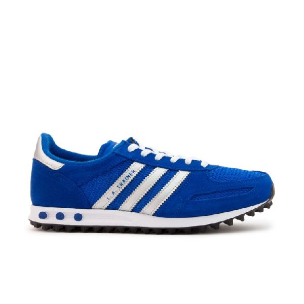 tienda del reino unido fina artesanía el más nuevo Adidas La Trainer Blue/Silver Kids Shoes sku.40466 - Kids Adidas ...