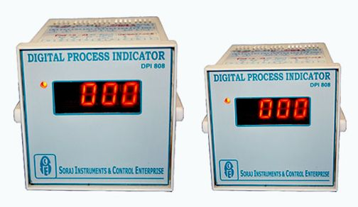 Digital Process Indicators with re-Transmission Output