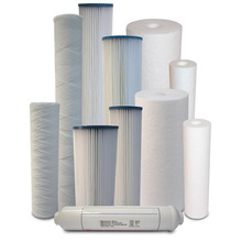 spun sediment water filter cartridge
