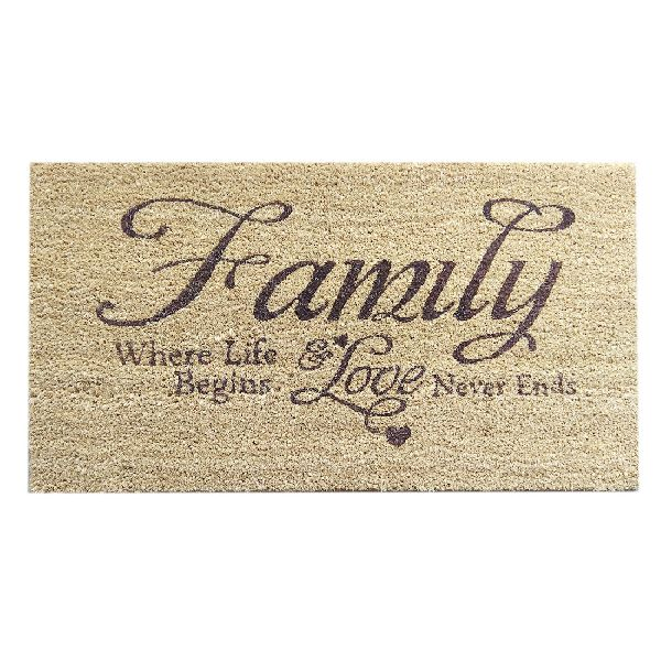 Coir Family Door Mats (SE-32181)