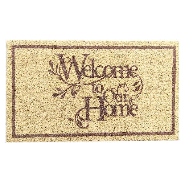 PVC Backed Welcome Coir Mats (SE-32176)