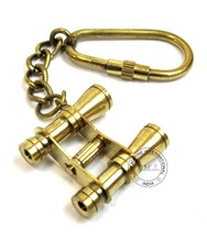 Brass Key Chain Nautical Binocular
