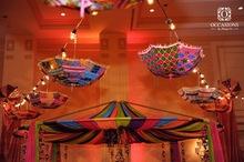 Cotton Embroidery Decorative Umbrellas