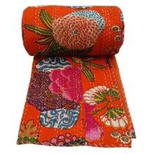 Floral Kantha Quilts