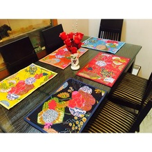 Kantha Tableware Pads Furniture Cloth Kitchen