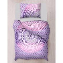 Mandala Bedding Twin Reversible Duvet Cover Set