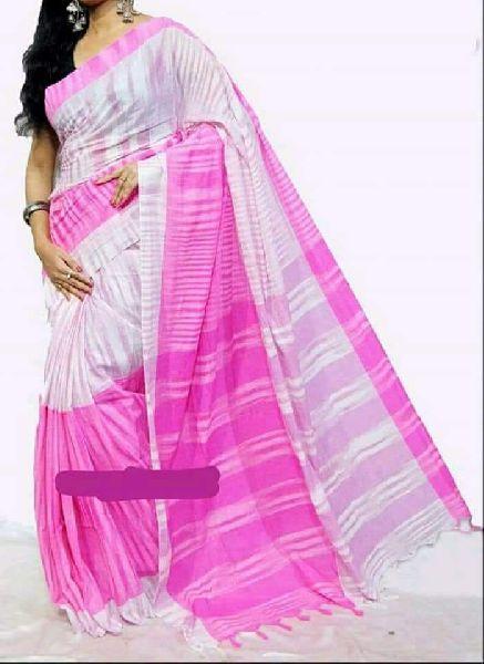 Handloom Soft Cotton Jharna Saree Manufacturer in Nadia West Bengal