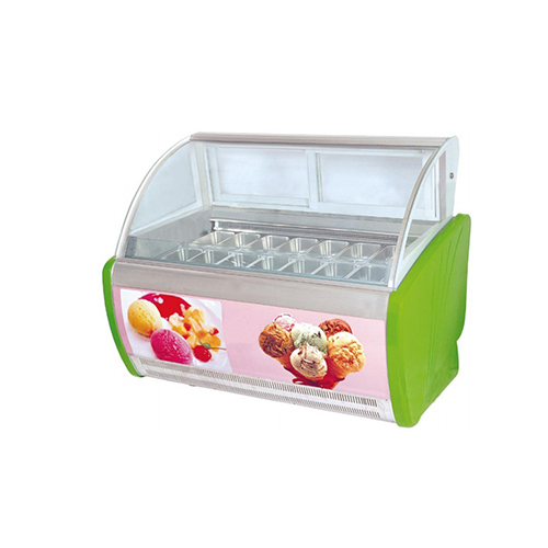 1.85m Back Open Ice Cream Display