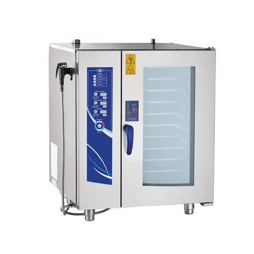 10 Tray Combi Steamer with Boiler (Digital Type)