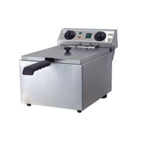 10L Electric 1-Tank and 1-Basket Fryer