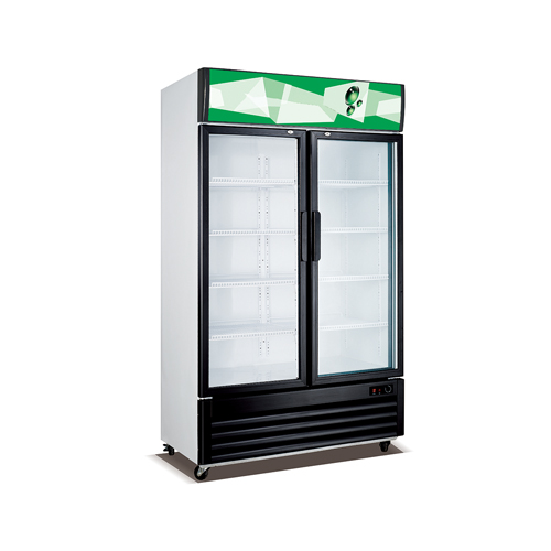 2 Doors Static Cooling Vertical Showcase