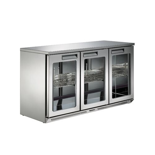 3 Doors Fancooling Bar Refrigerator