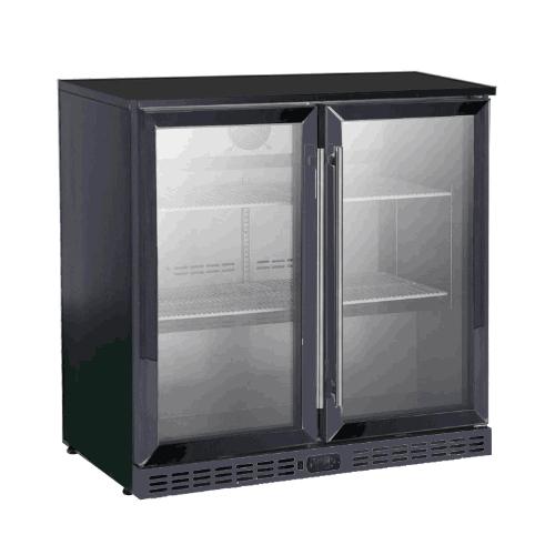 Double Hinged Door Bar Refrigerator