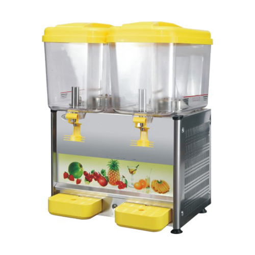 Juice Dispenser Refrigerated 2*18 Ltr