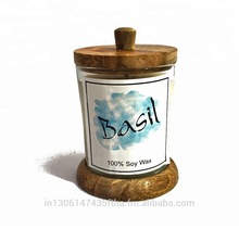 Scented Soy Wax Jar Candle