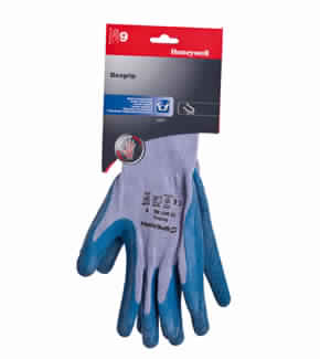 GLOVES COTTON LATEX COATED HONEYWELL