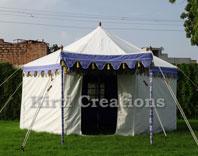 Artistic Resort Tent