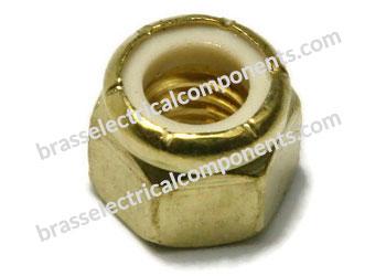 Nylon Insert Brass Lock Nuts
