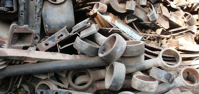 Bulk Cast Iron Scraps/HMS1/HMS2 Scraps (8431598)