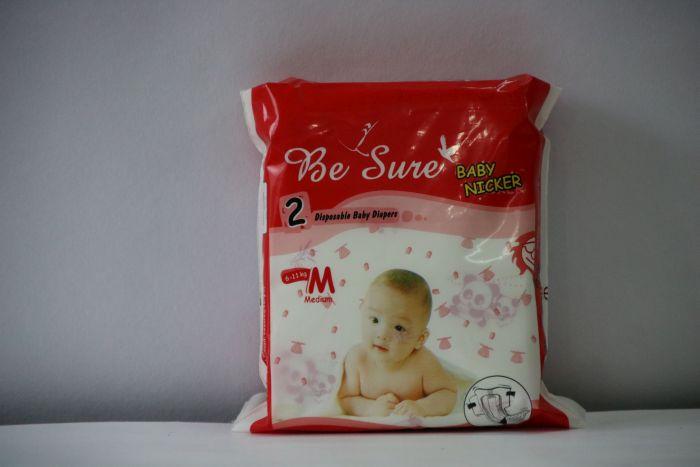 Be Sure Medium Baby Diaper