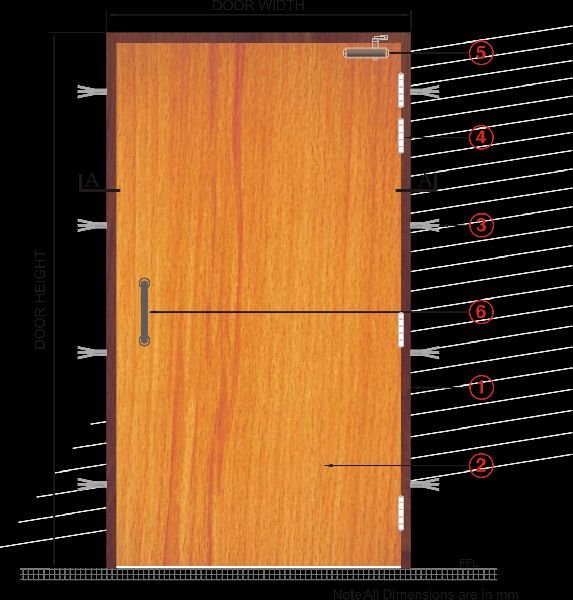 Fire Rated Wooden Doors Manufacturer In Delhi India By Sukri Paints