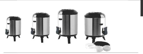 Insulated  Water Pots