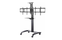 Flat Panel Video Conferencing TV Cart