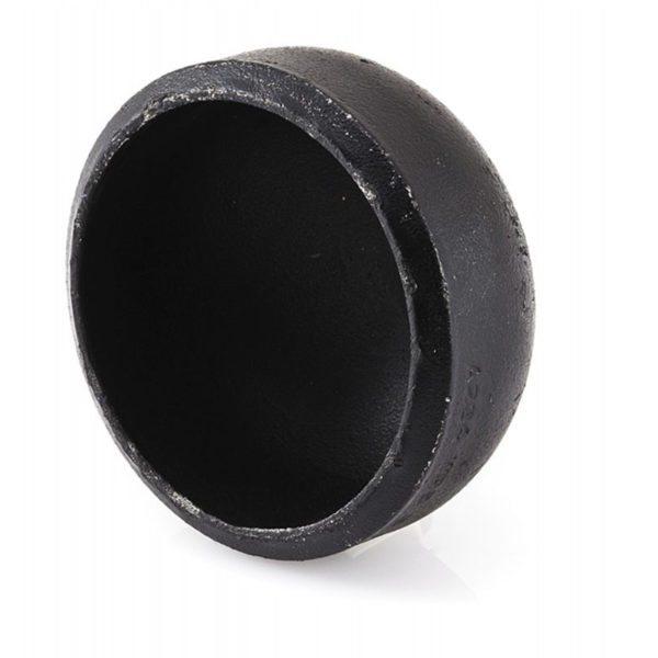 BLACK MILD STEEL END CAP