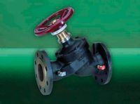DOUBLE REGULATING VARIABLE FLANGED ORIFICE VALVE